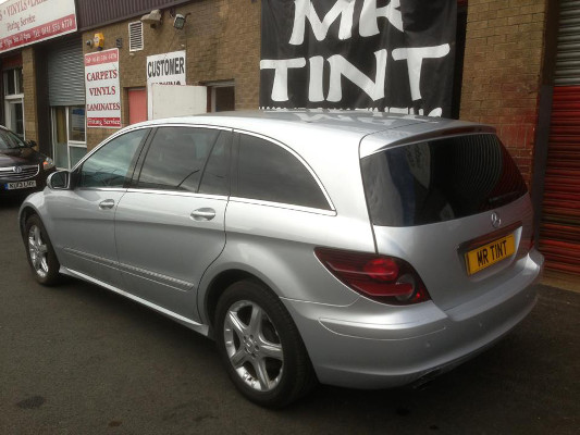 window tints on estate car
